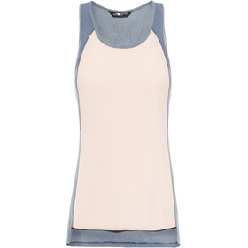The North Face Invene Top Women Pink Salt White Heather/Grisaille Grey White Heather